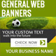 General Web Banners - GraphicRiver Item for Sale