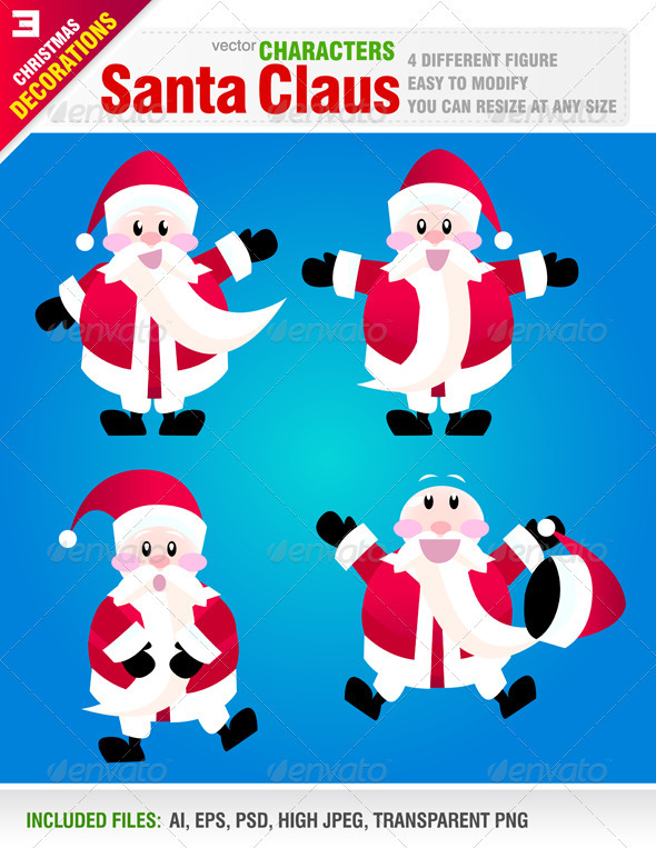 Santa Clause - Christmas Seasons/Holidays