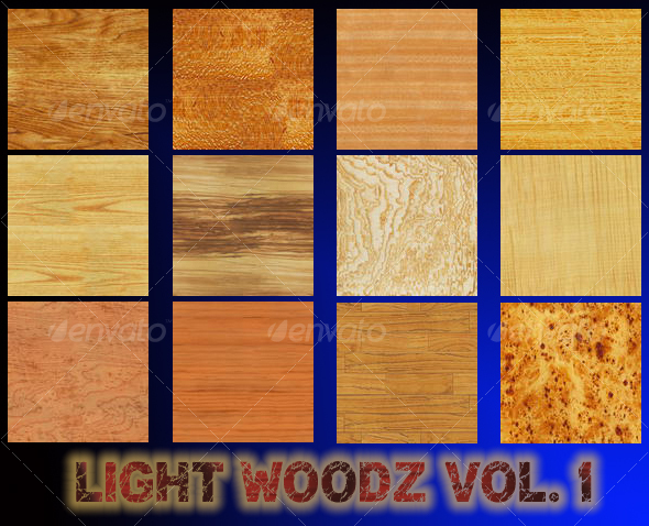 Light Woodz Textures Volume One - TTD - Wood Textures