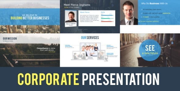 corporate presentationyaroflasher | videohive, Powerpoint templates
