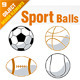 Sport Balls Set - GraphicRiver Item for Sale