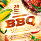 BBQ Party Flyer Vol.2 - GraphicRiver Item for Sale