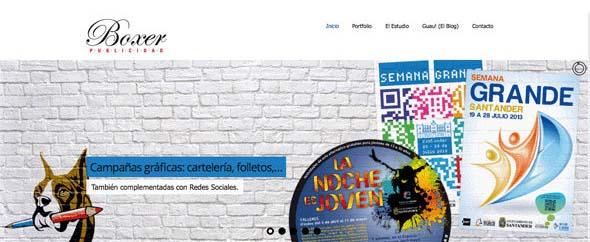 Boxer publicidad web