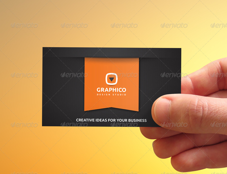 Stylish Corporate Business Card - 40 by nazdrag | GraphicRiver