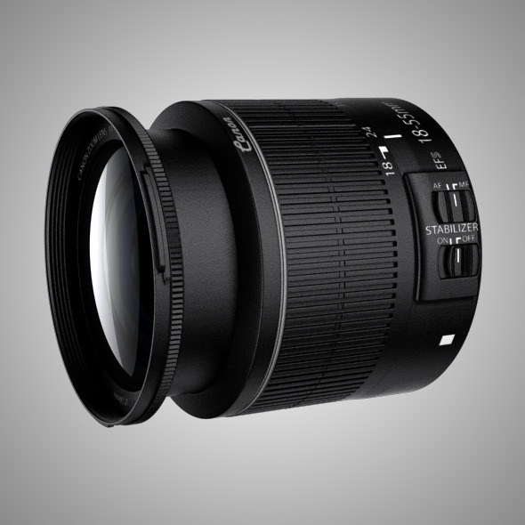 Canon EFS 15-88 IS II Lens - 3DOcean Item for Sale