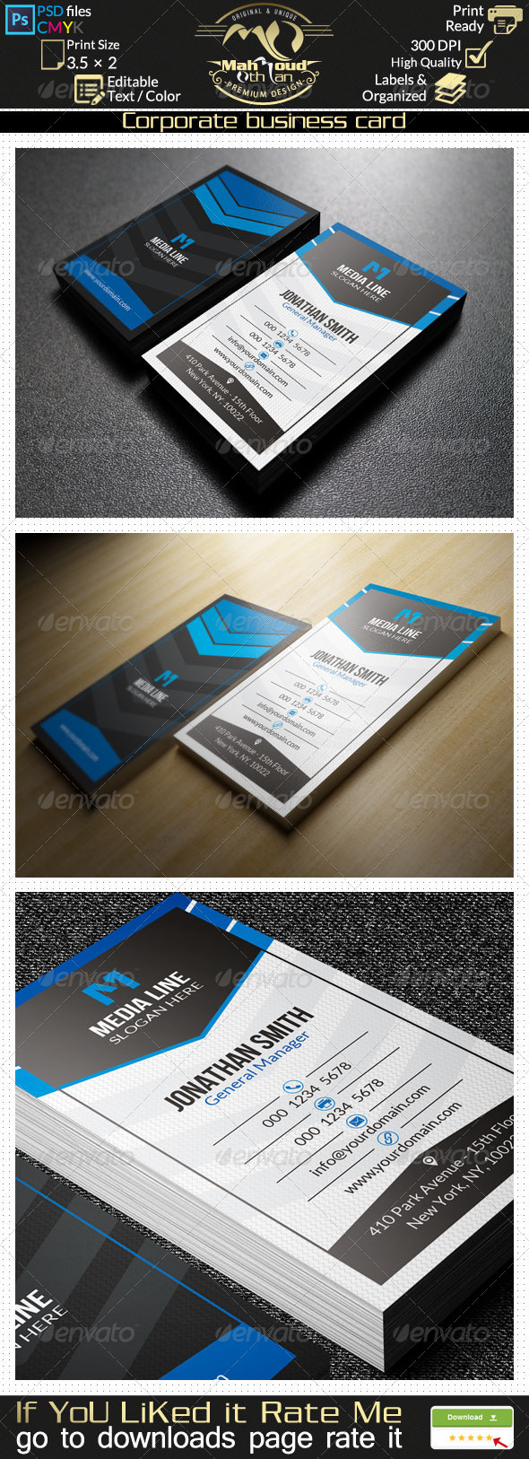 Corporate Business Card 21 - Corporate Business Cards