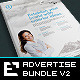 Bundle Corporate Adverts / US Letter / A4 v3 - GraphicRiver Item for Sale