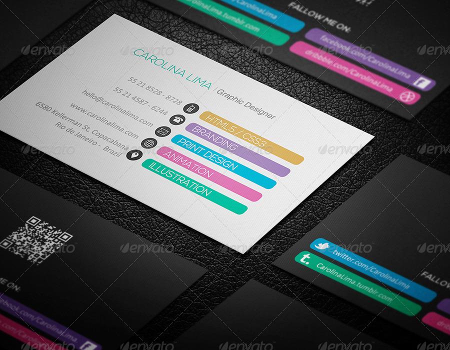Creative Designer Business Card Vol. 05 by JorgeLima | GraphicRiver