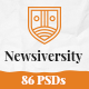 Newsiversity - PSD - ThemeForest Item for Sale