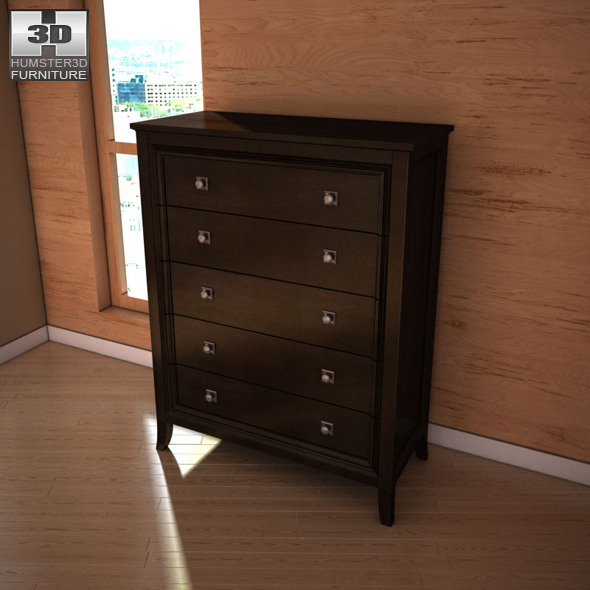 Ashley Martini Suite Storage Bedroom Set By Humster3d