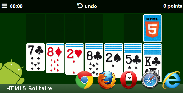 HTML5 Solitaire - CodeCanyon Item for Sale