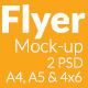Flyer Mock-up SS-6 - GraphicRiver Item for Sale