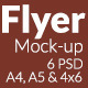 Flyer Mock-up SS-1 - GraphicRiver Item for Sale