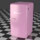 Refrigerator Pink