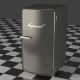 A gray Refrigerator