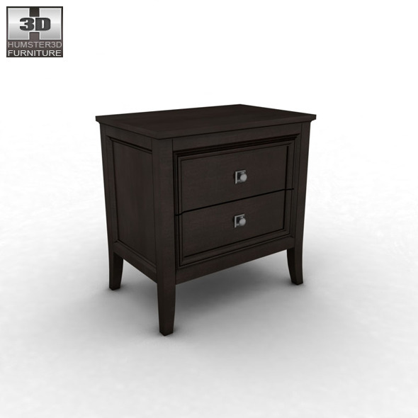 Ashley Martini Suite Nightstand   3D Model.