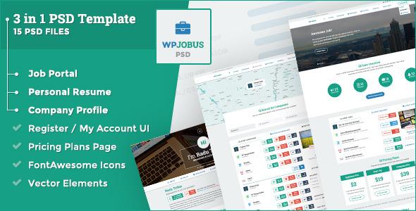 WPJobus - Job Portal, Resume and Company Profile by Themes-Dojo ...