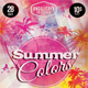 Summer Colors Flyer Template - GraphicRiver Item for Sale