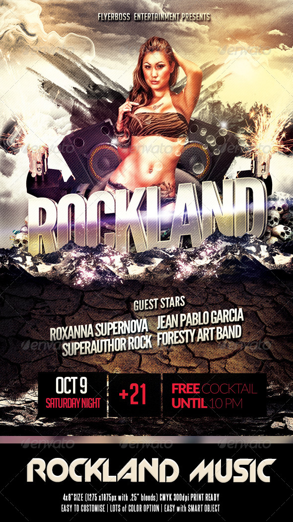 Rockland Party - Events Flyers
