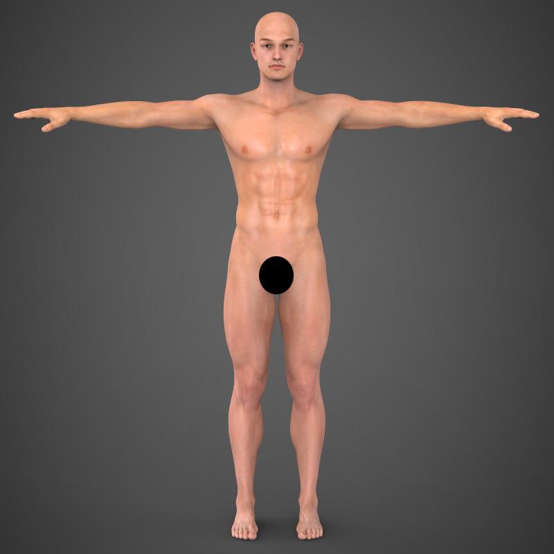 Realistic Human Male
