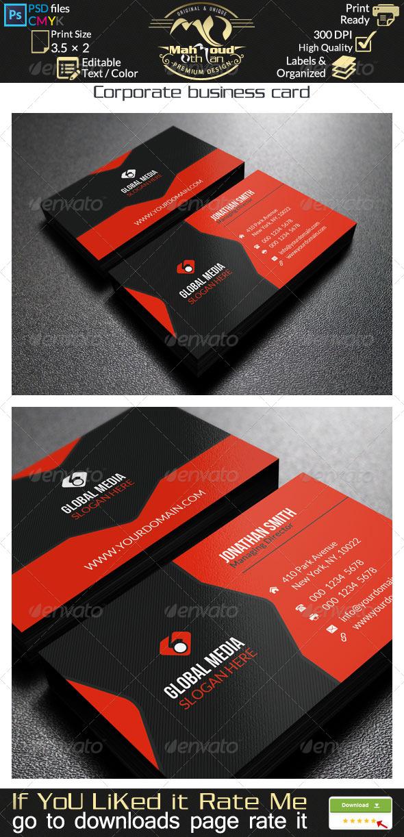 Corporate Business Card - 31 - Corporate Business Cards