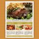 Restaurant/Fast Food Flyer V3 - GraphicRiver Item for Sale