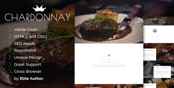 Chardonnay Responsive HTML Temlate - Food Retail