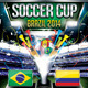 Soccer Cup (Flyer Template 4x6)