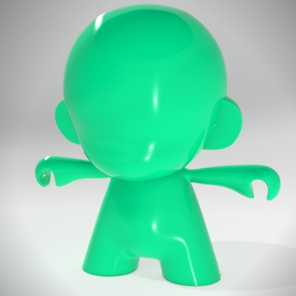 Munny toy - 3DOcean Item for Sale