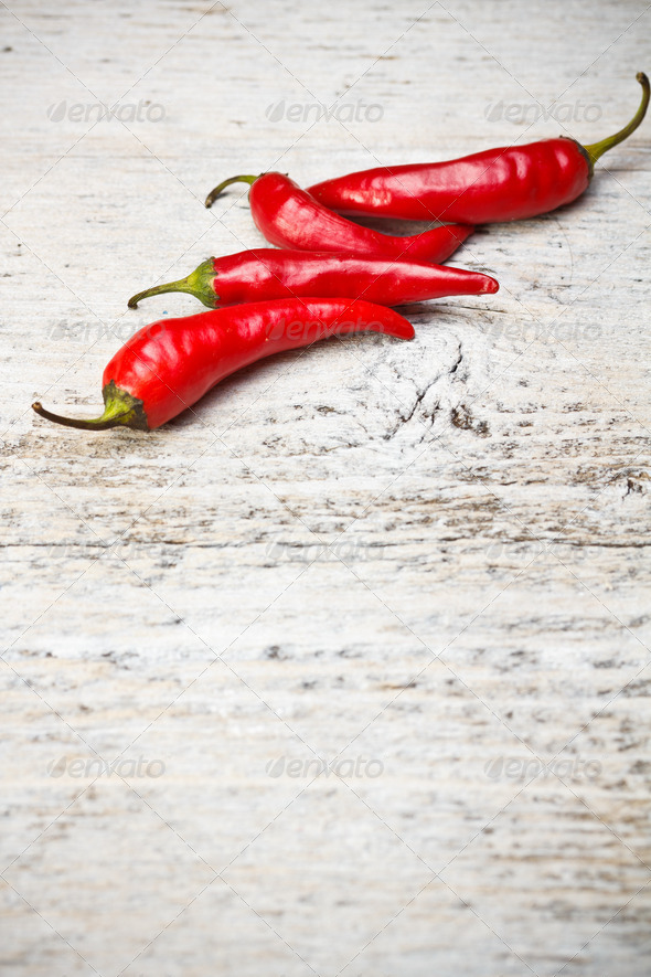 Red hot chili peppers - Stock Photo - Images
