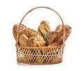 Bread in wicker basket - PhotoDune Item for Sale