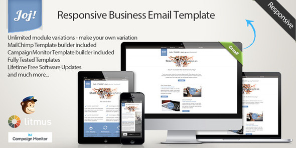 JOJ – Responsive Business Email Template