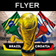 Soccer Live Match Brazil 14 Flyer - GraphicRiver Item for Sale