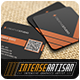 Square Business Card V.7 - GraphicRiver Item for Sale