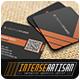 Square Business Card V.7 - GraphicRiver Item for Sale