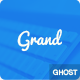 Grand: A Responsive Masonry Style Ghost Theme Nulled