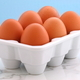 Fresh eggs on kitchen station - PhotoDune Item for Sale