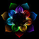 Rainbow Lotus - GraphicRiver Item for Sale