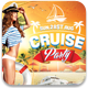 Cruise Party Flyer Template - GraphicRiver Item for Sale