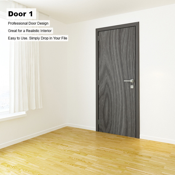 Door 1 - 3DOcean Item for Sale