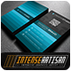 IntenseArtisan Business Card Vol.66 - GraphicRiver Item for Sale