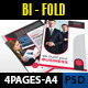 Company Bi-Fold Brochure Template vol_4 - GraphicRiver Item for Sale