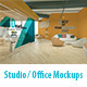 Studio / Office Mockups - GraphicRiver Item for Sale