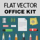 Flat Office Kit - GraphicRiver Item for Sale