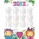 2012 floral calendar - GraphicRiver Item for Sale