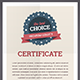 Certificate Template. - GraphicRiver Item for Sale