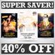 Club Party Flyers Super Bundle Vol1 - GraphicRiver Item for Sale