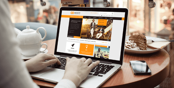 INFINITY     Multipurpose HTML5 Template - Corporate Site Templates
