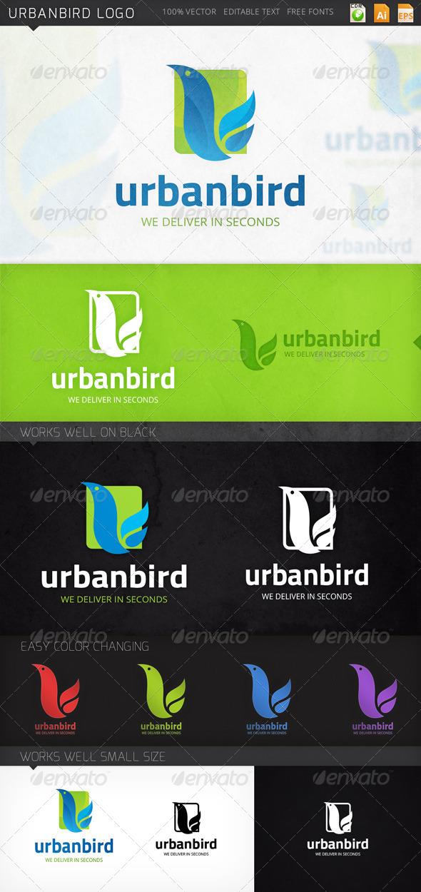 Urbanbird Letter U Logo Template - Abstract Logo Templates