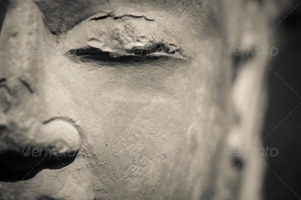 buddha closeup - Stock Photo - Images